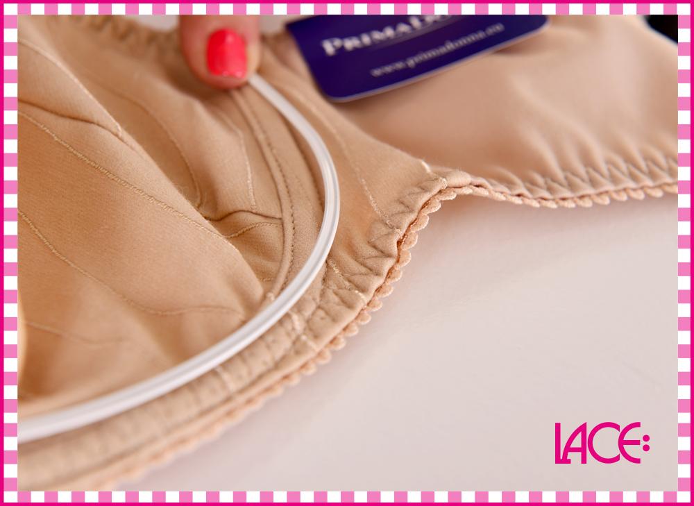 Nylonklädda stålbyglar ger både flexibilitet och mycket komfortabel känsla. 84b3459ce1f19