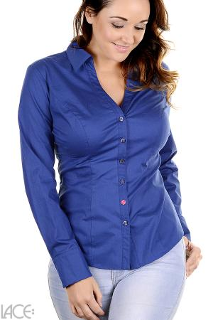 LACE Design - Classic Shirt Bluse F-H Cup