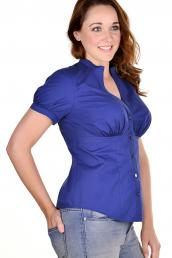 LACE Design - Casual Shirt Bluse F-H Cup