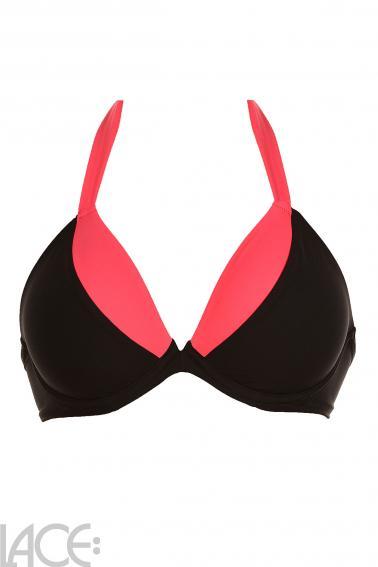 LACE Lingerie - Strandholm Bikini-BH Tiefes Dekolleté D-G Cup