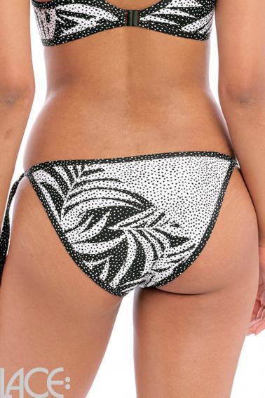 Freya Swim - Gemini Palm Bikini Slip zum Schnüren - Vendbar