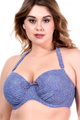 PrimaDonna Swim - Jacaranda Bikini Bandeau BH E-G Cup