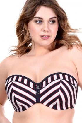 Panache Swim - Lucille Bikini Bandeau BH E-G Cup