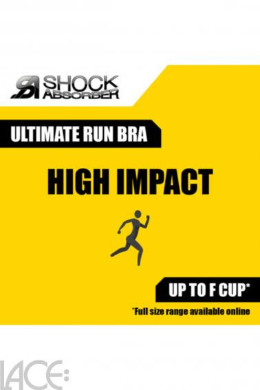 Shock Absorber - Ultimate Run Sport-BH ohne Bügel E-I Cup