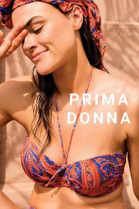 PrimaDonna Swim - Casablanca Bikini Bandeau BH mit abnembaren Trägern D-G Cup
