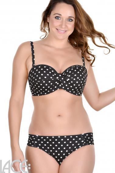 Panache Swim - Anya Spot Bikini Bandeau BH DD-G Cup
