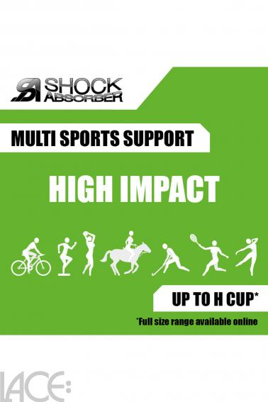 Shock Absorber - Active Multi Sport-BH ohne Bügel F-L Cup